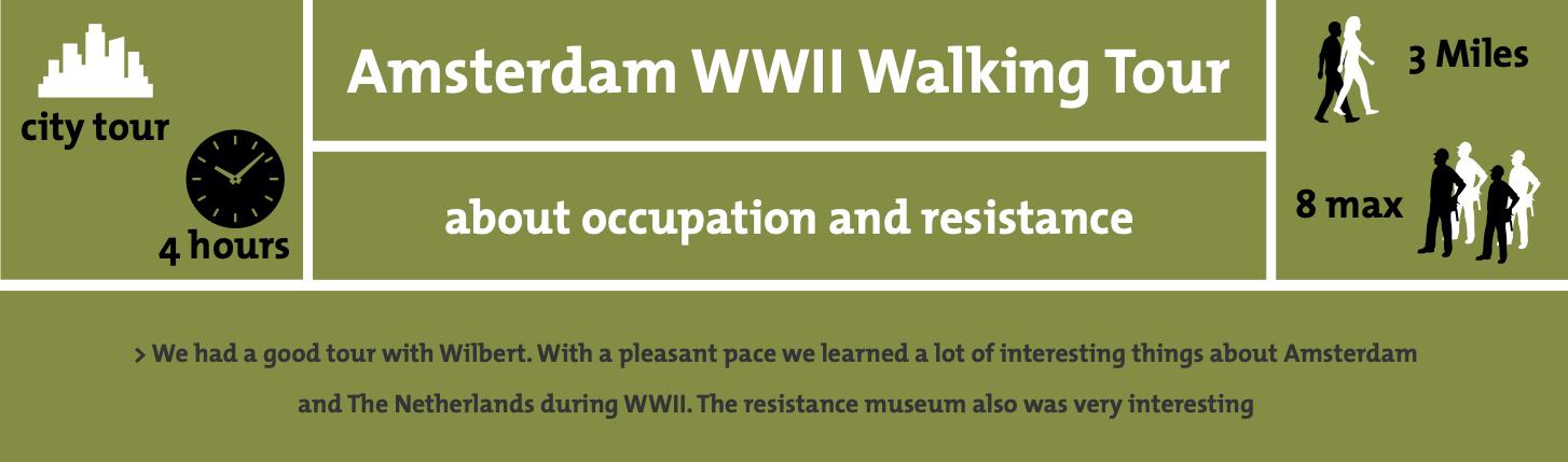 Amsterdam WW2 Occupation