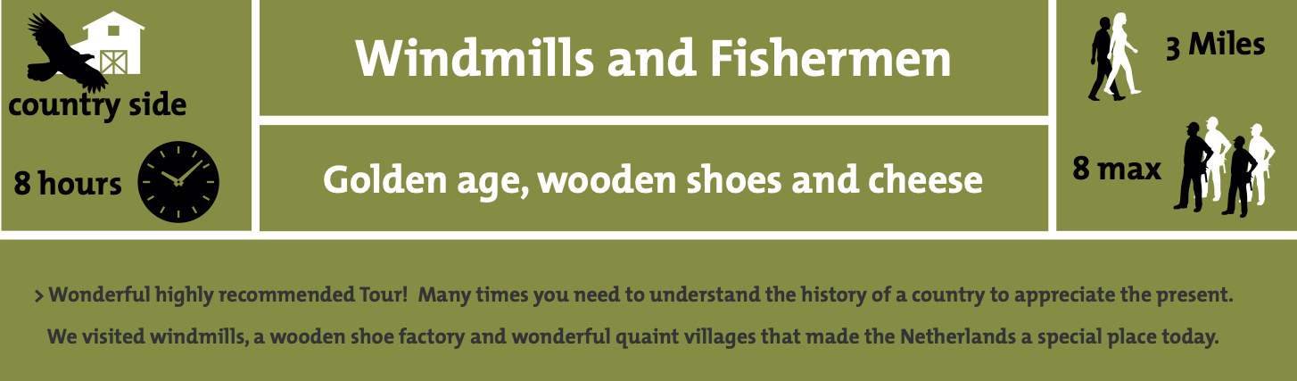 Windmills and fishermen