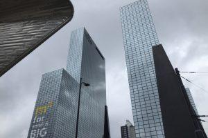 Rotterdam business district