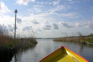 sailing Peat Moor lake