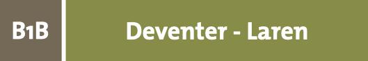 hiking network from Deventer to Laren