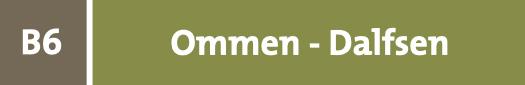 hiking network from Ommen to Dalfsen
